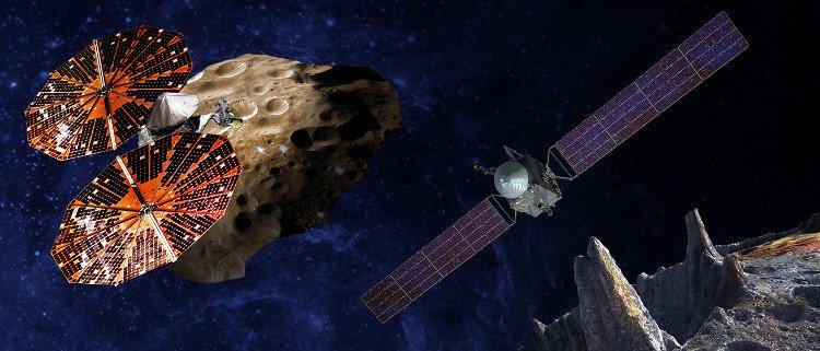 NASA công bố hai sứ mệnh giải mã các bí ẩn về Hệ Mặt Trời