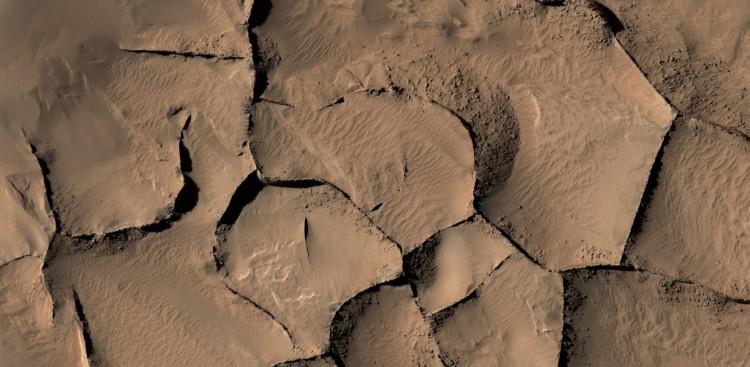 NASA phát hiện cấu trúc cao 16 tầng trên bề mặt sao Hỏa