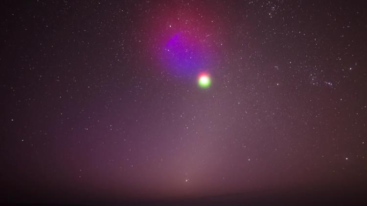 NASA sắp phóng mây màu phát sáng vào vũ trụ