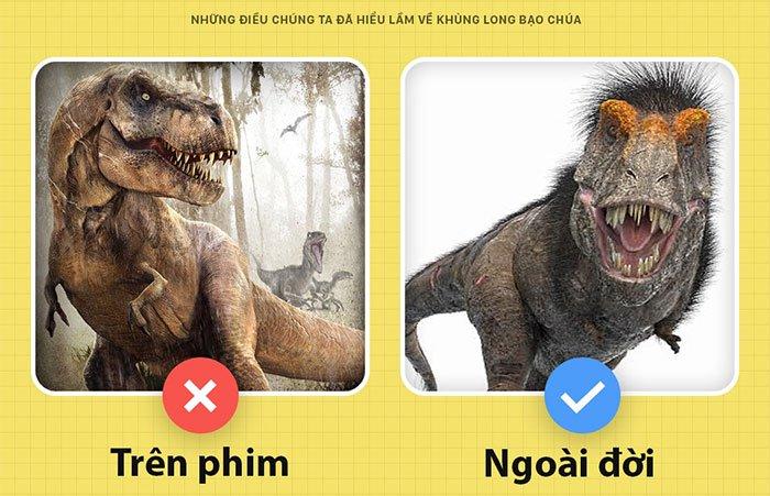 Này, tôi là T-Rex bạo chúa của Jurassic World đây và các ông đã nhầm về tôi hết rồi!