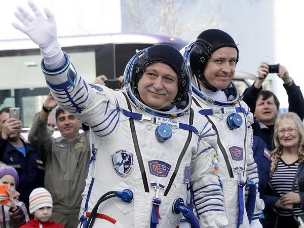 Nga phóng tàu vũ trụ Soyuz MS-04 lên Trạm Vũ trụ quốc tế ISS