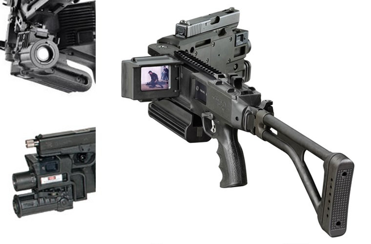 Ngạc nhiên với súng bẻ góc cực hiện đại của CSCĐ Việt Nam