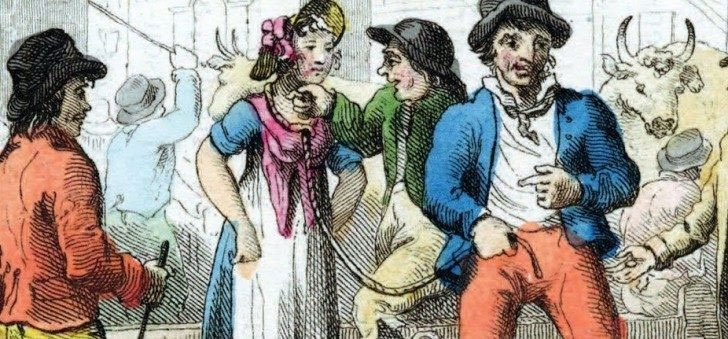 Người Anh đã từng phải bán vợ để chấm dứt hôn nhân vì li dị quá tốn tiền