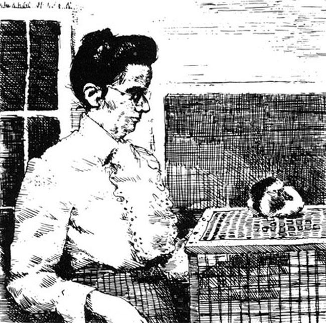 Người phụ nữ tiên phong nuôi chuột dùng cho khoa học