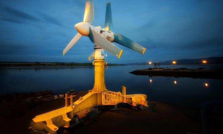 Nhà máy điện thủy triều quy mô lớn đầu tiên trên thế giới