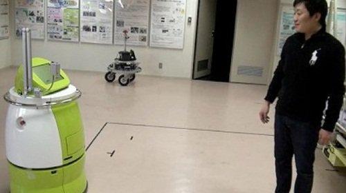 Nhật Bản chế tạo robot tự hành thay thế xe đẩy y tế