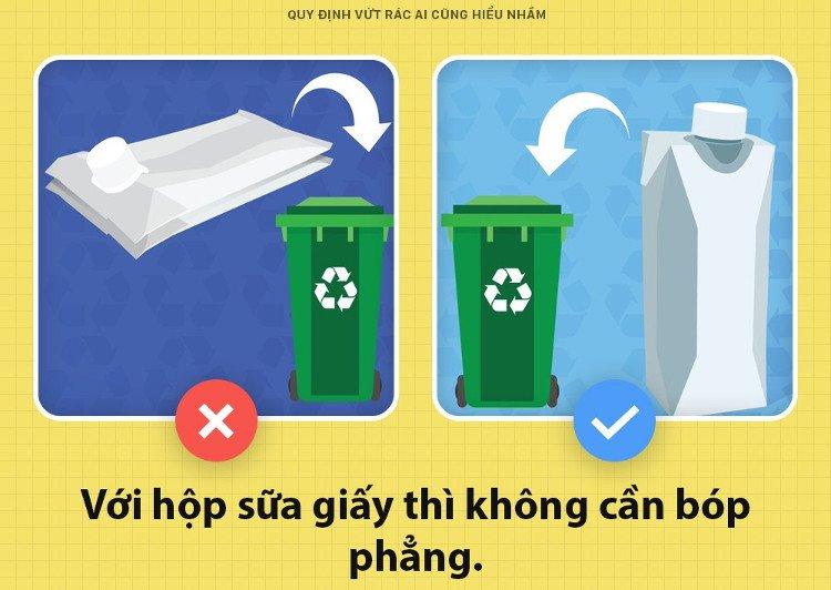Nhiều người đang có một hiểu lầm rất lớn mỗi khi vứt hộp sữa đi