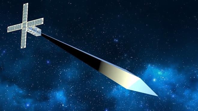 Nhờ tên lửa Falcon 9, nghệ sĩ Mỹ sẽ phóng tác phẩm nghệ thuật có thể nhìn bằng mắt thường