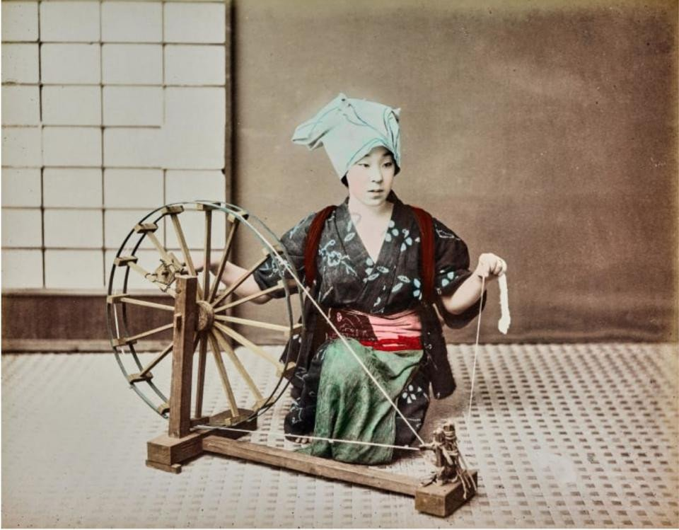 Những bức ảnh đáng kinh ngạc về Nhật Bản những năm 1850