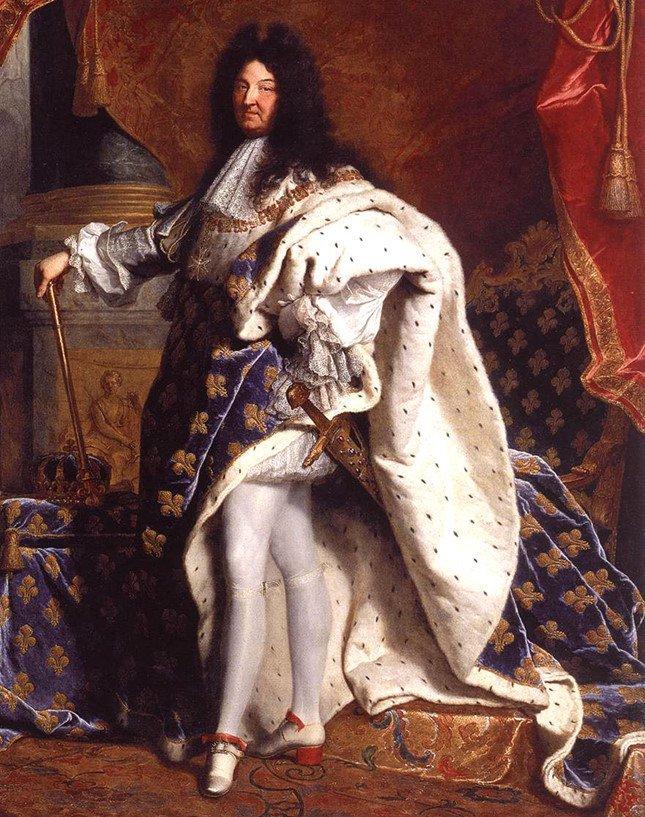 Những cái tật lập dị của Louis XIV - Ông vua chỉ tắm 3 lần trong đời