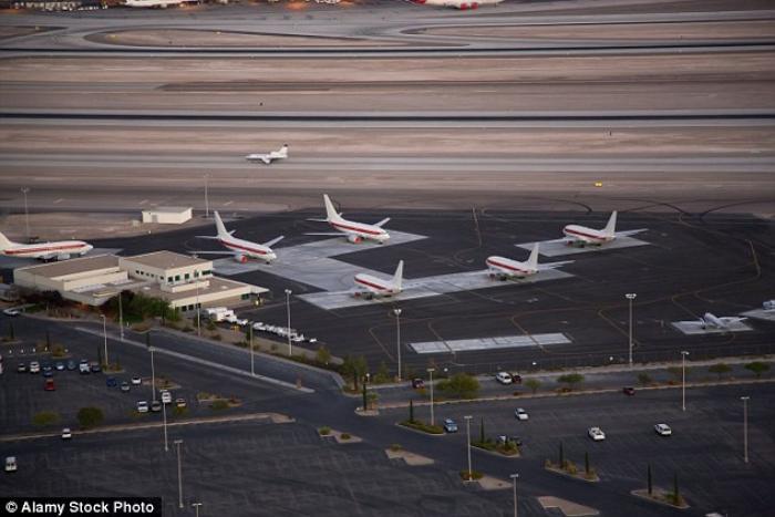 Những chuyến bay không tên đến căn cứ quân sự tối mật của Mỹ