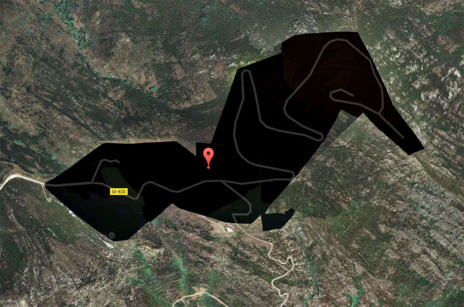 Những địa điểm bí ẩn trên Google Maps