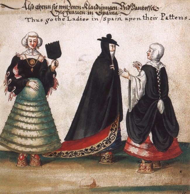 Những đôi giày cao tới 50cm: Chuẩn mực của cái đẹp phụ nữ thời Trung Đại