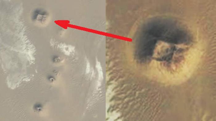 Những hình ảnh kì lạ nhất của Trái đất trên Google Earth