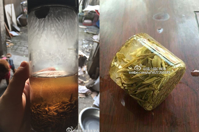 Những hình ảnh lạnh không tin nổi ở Trung Quốc