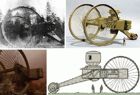 Những phát minh vũ khí điên khùng nhất thế kỷ