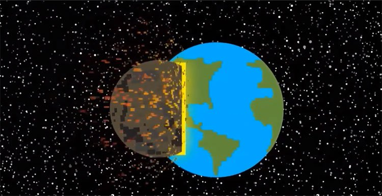 Những tác động có thể hủy diệt một hành tinh