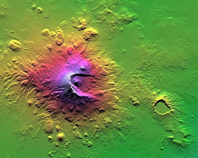 Những tấm ảnh của NASA về núi lửa trên Trái đất sẽ khiến bạn thấy mình thật nhỏ bé