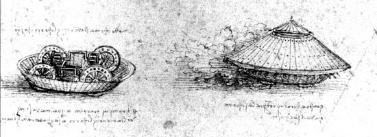 Những thiết kế vượt thời gian của Leonardo da Vinci