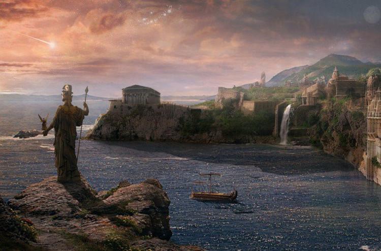 Những truyền thuyết bí ẩn về thành phố huyền thoại Atlantis