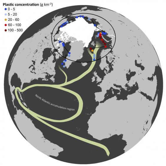 Phát hiện 300 tỷ vật thể tại Bắc Cực, gây nguy hại cho Trái Đất