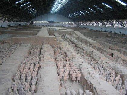Phát hiện mới ở mộ Tần Thủy Hoàng