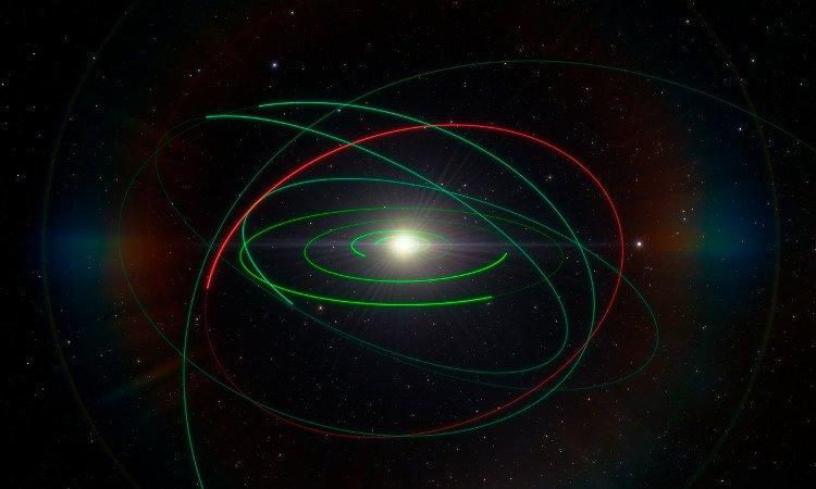 Phát hiện một tiểu hành tinh nằm ngoài Hệ Mặt Trời
