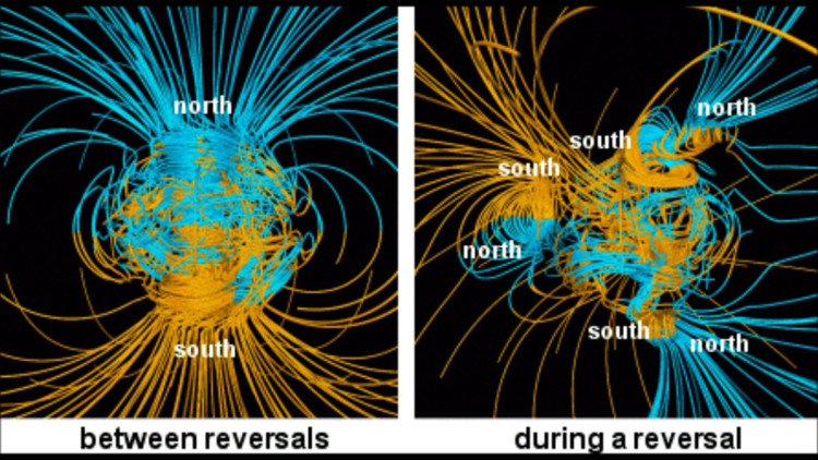 Phát hiện ống dung nham khổng lồ, có thể gây đảo cực từ trường Trái Đất