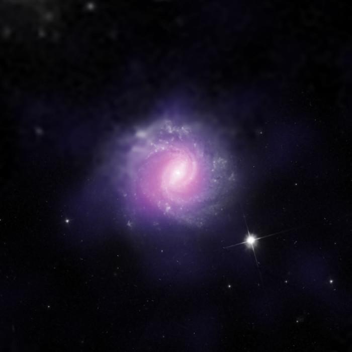 Phát hiện ra hai lỗ đen khổng lồ ẩn nấp trong các thiên hà gần chúng ta