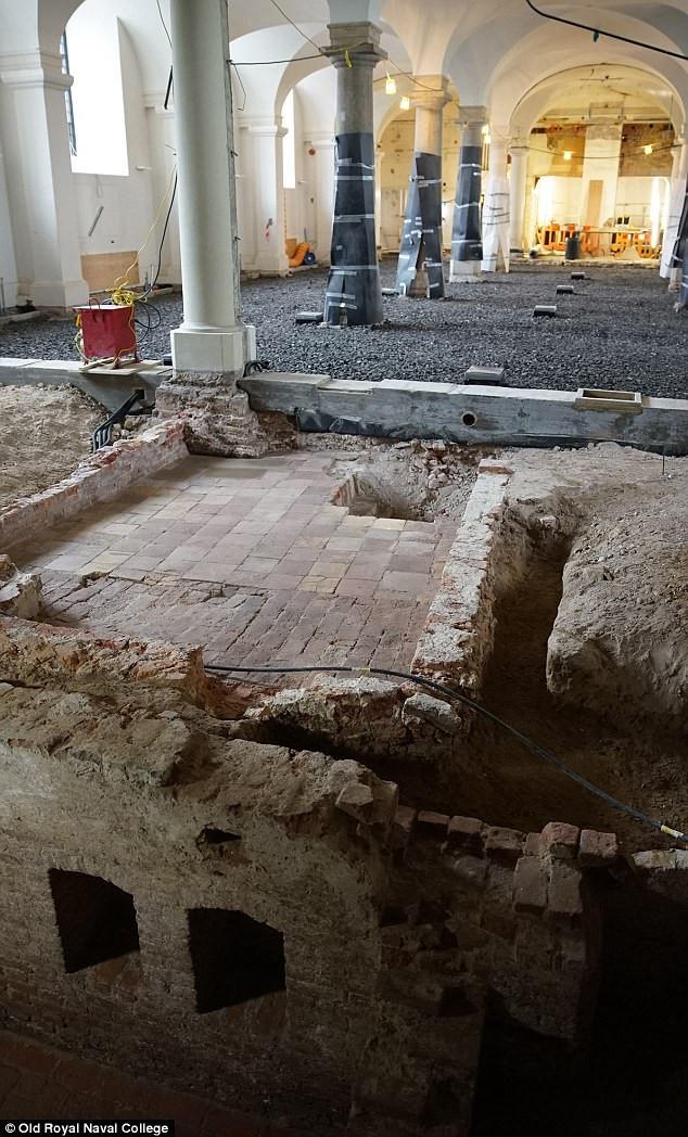 Phát hiện tàn tích cung điện Placentia - nơi vua Henry VIII ra đời