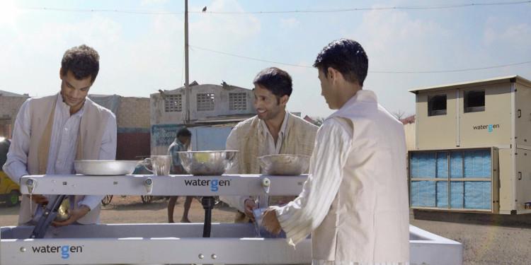 Phát minh thành công máy tạo nước từ không khí