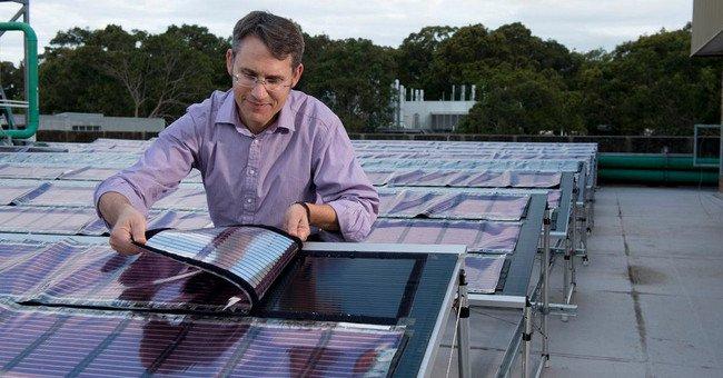 Pin năng lượng mặt trời sản xuất bằng phương pháp in sắp trở thành hiện thực
