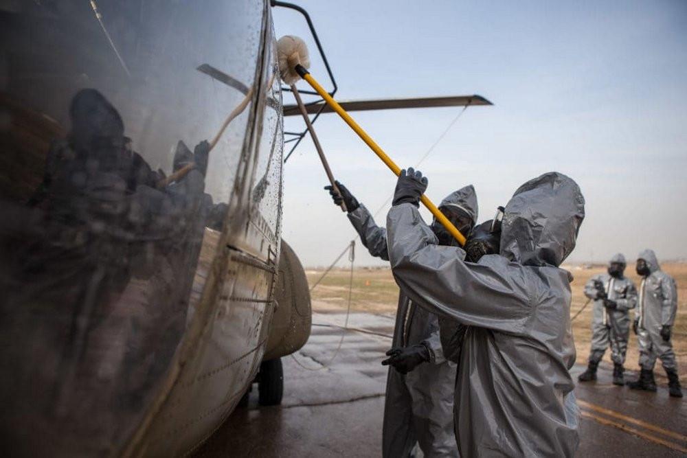 Quy trình khử độc từ vũ khí hủy diệt hàng loạt của quân đội Mỹ
