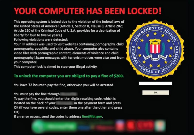 Ransomware, phần mềm mã độc chuyên khóa máy hoặc file rồi đòi tiền chuộc