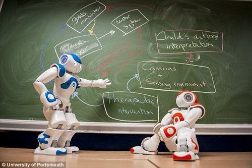Robot có thể điều trị bệnh tự kỷ hiệu quả hơn bác sĩ