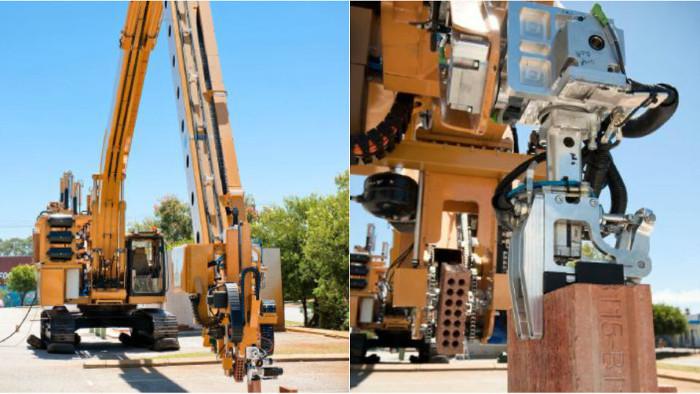 Robot xây nhà chỉ trong 2 ngày, bạn có dám ở trong đó không?