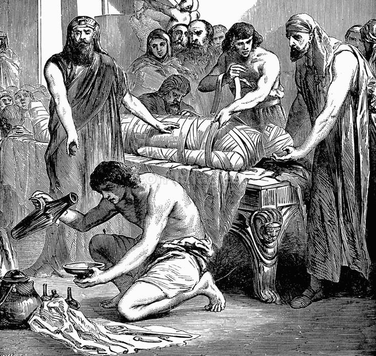Rùng mình thú ăn thịt xác ướp thời cổ đại