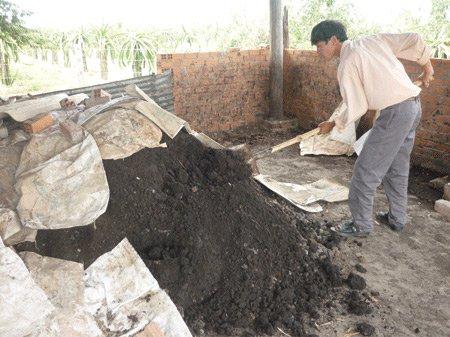 Sản xuất phân vi sinh từ than bùn với giá thành rẻ