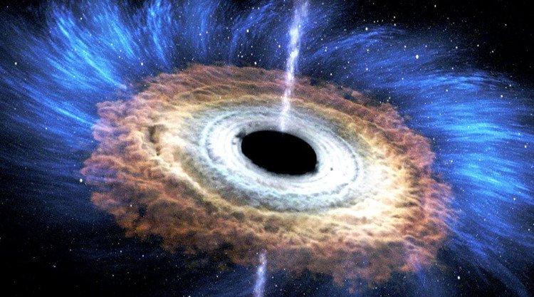 Siêu hố đen lớn gấp 20 tỷ lần Mặt Trời ăn sao liên tục