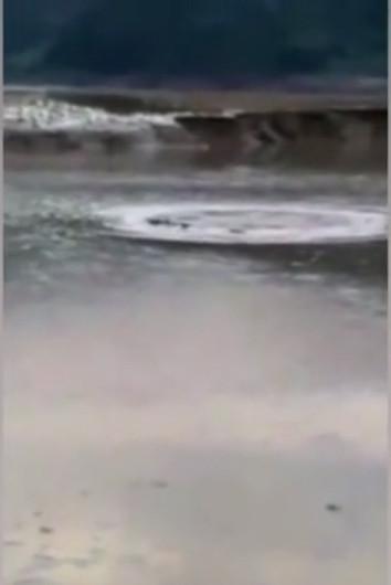 Sinh vật giống quái vật Loch Ness gây hoang mang ở Trung Quốc