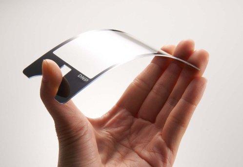 Smartphone có màn hình bằng chất liệu mới