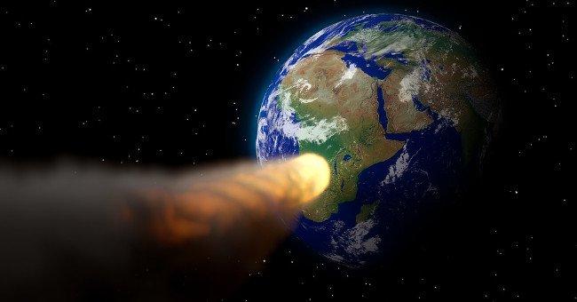 Sốc với mức độ tàn phá kinh hoàng khi tiểu hành tinh va vào Trái Đất