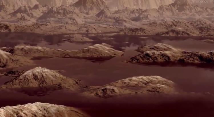 Sóng trên mặt trăng của sao Thổ chỉ cao... 1 centimet