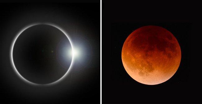 Sự trùng hợp đáng kinh ngạc khiến cho Mặt Trăng và Mặt Trời không cùng kích cỡ mà vẫn che khuất được nhau