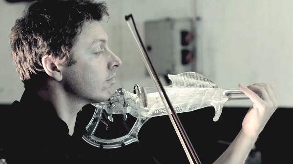 Tái tạo vĩ cầm huyền thoại bằng máy in 3D