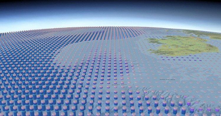 Tấm bản đồ 3D đầu tiên vẽ lại toàn bộ đại dương trên Trái Đất