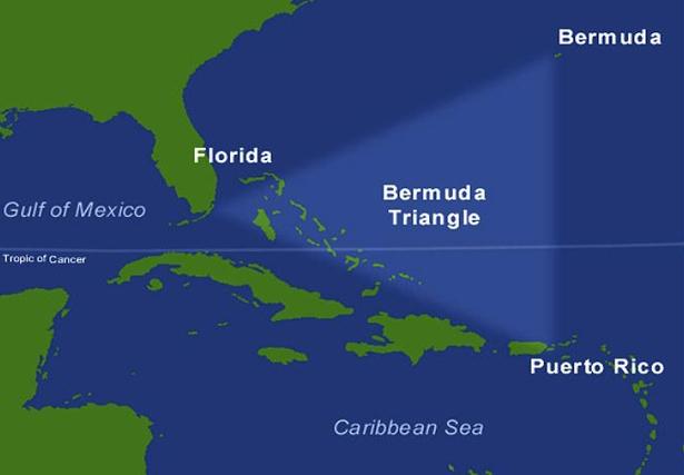 Tam giác quỷ Bermuda có thực sự nguy hiểm