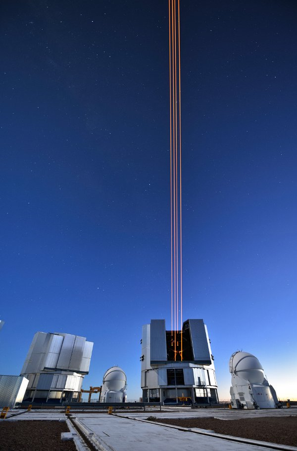 Tạo ra ngôi sao nhân tạo bằng 4 chùm laser siêu mạnh