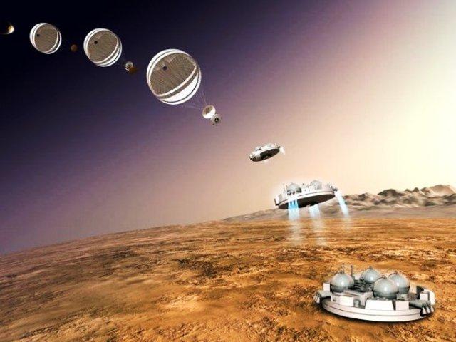 Tàu thăm dò sao Hỏa được lắp... gương tự sướng