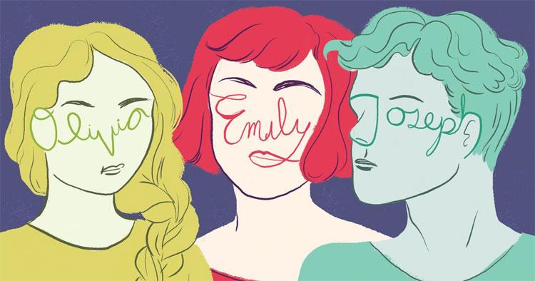 Tên có thể ảnh hưởng hình dáng khuôn mặt của bạn